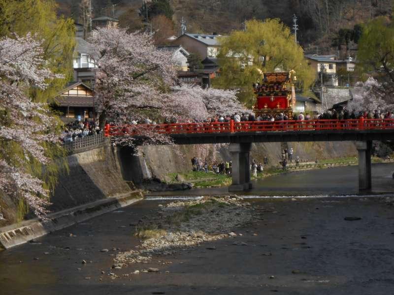 Nakabashi bridge on the Miyagawa river
