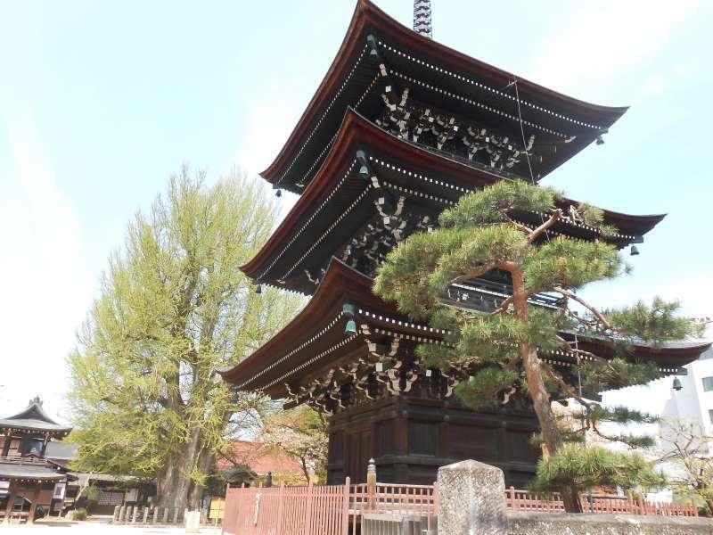 Kokubunji temple pagoda
