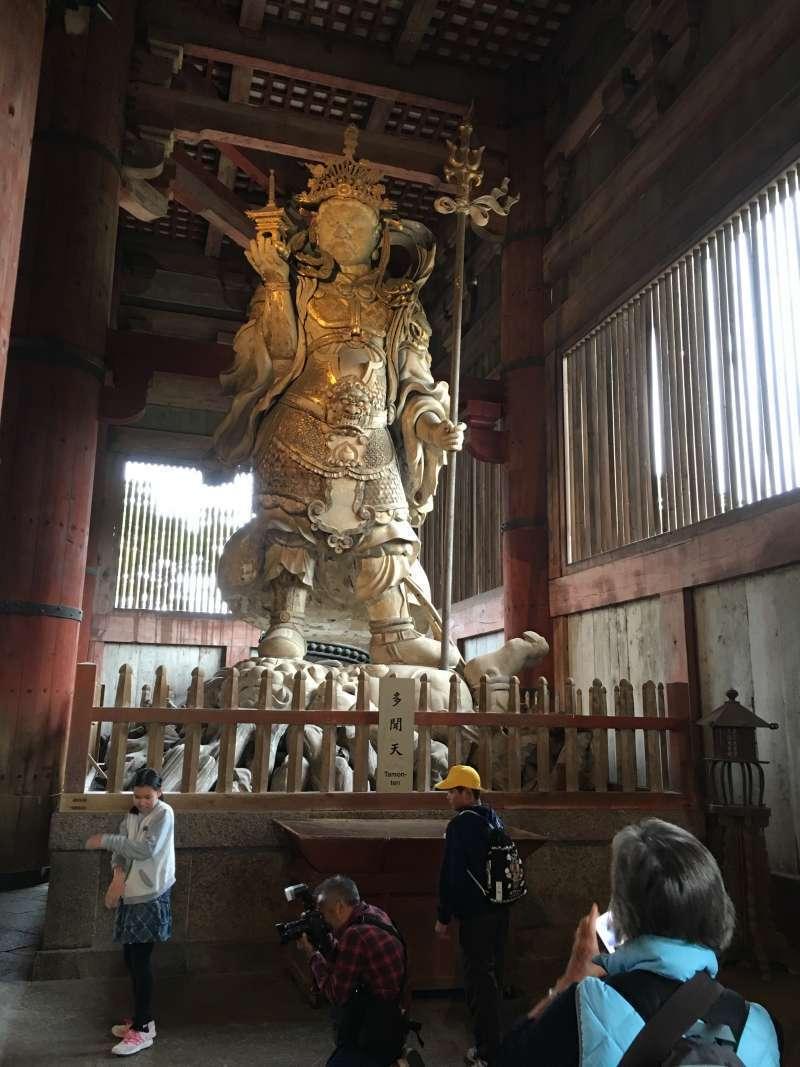 Buddhist statue made of wood
