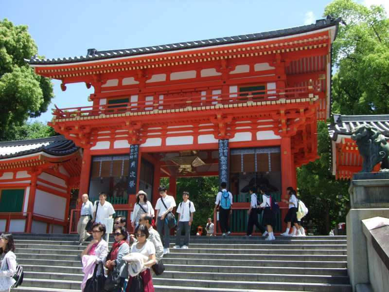 八阪神社西樓門