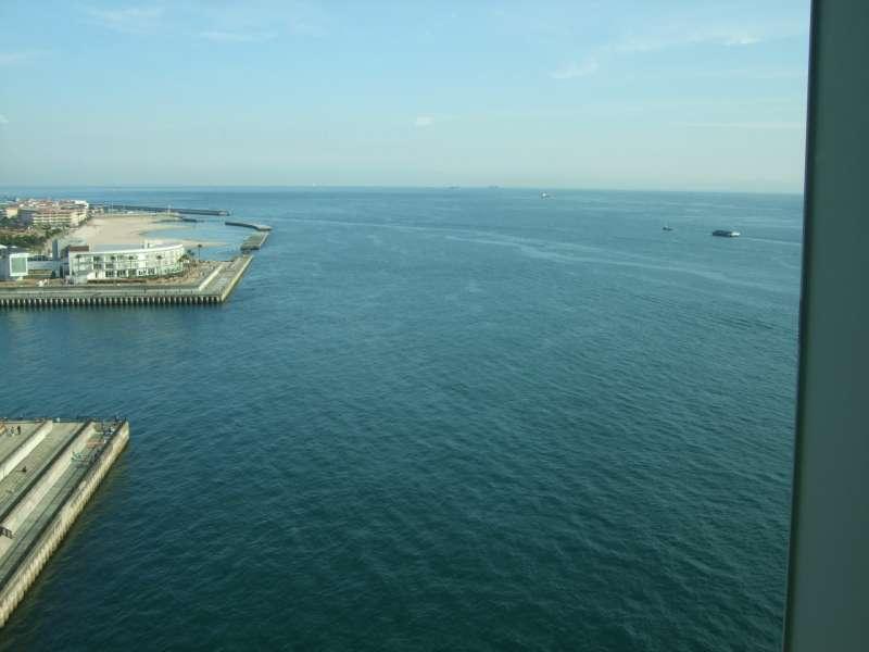 從明石海峽大橋眺望的大阪灣