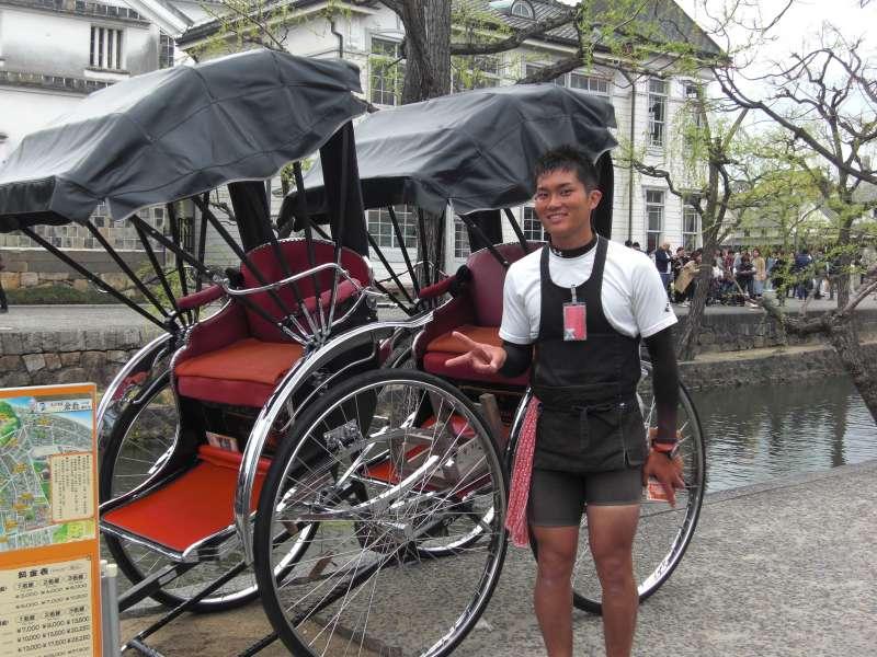 Jinrikisha (Japanese), rickshaw and rickshaw man