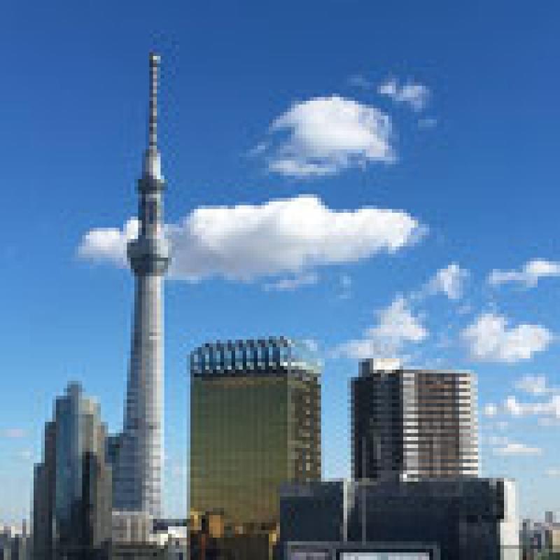 View from Asakusa