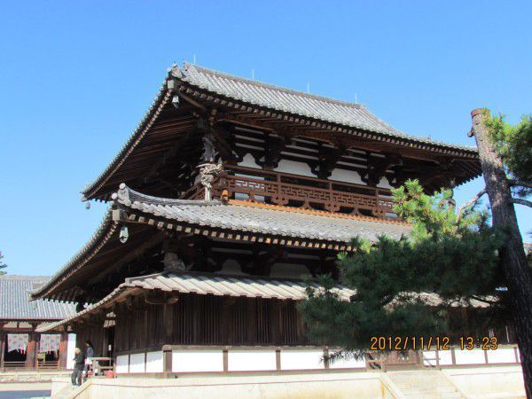 Kondo or the main hall is the central building housing the principal object of worship.