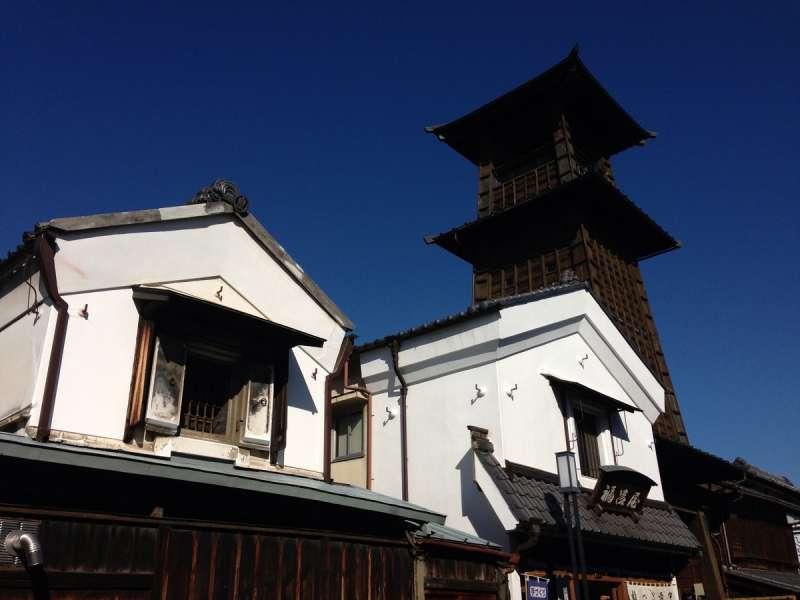 Symbol of Kawagoe, Tokino Kane (Time bell tower)