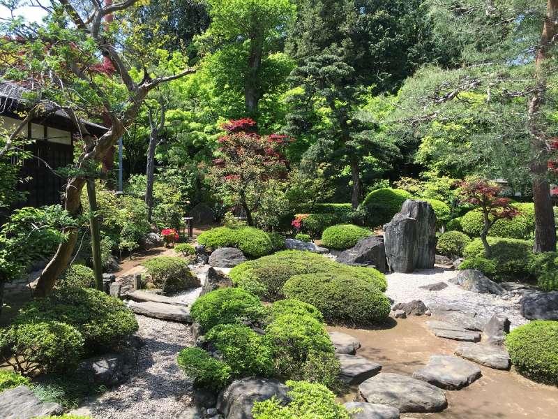 Garden of Kitain Temple