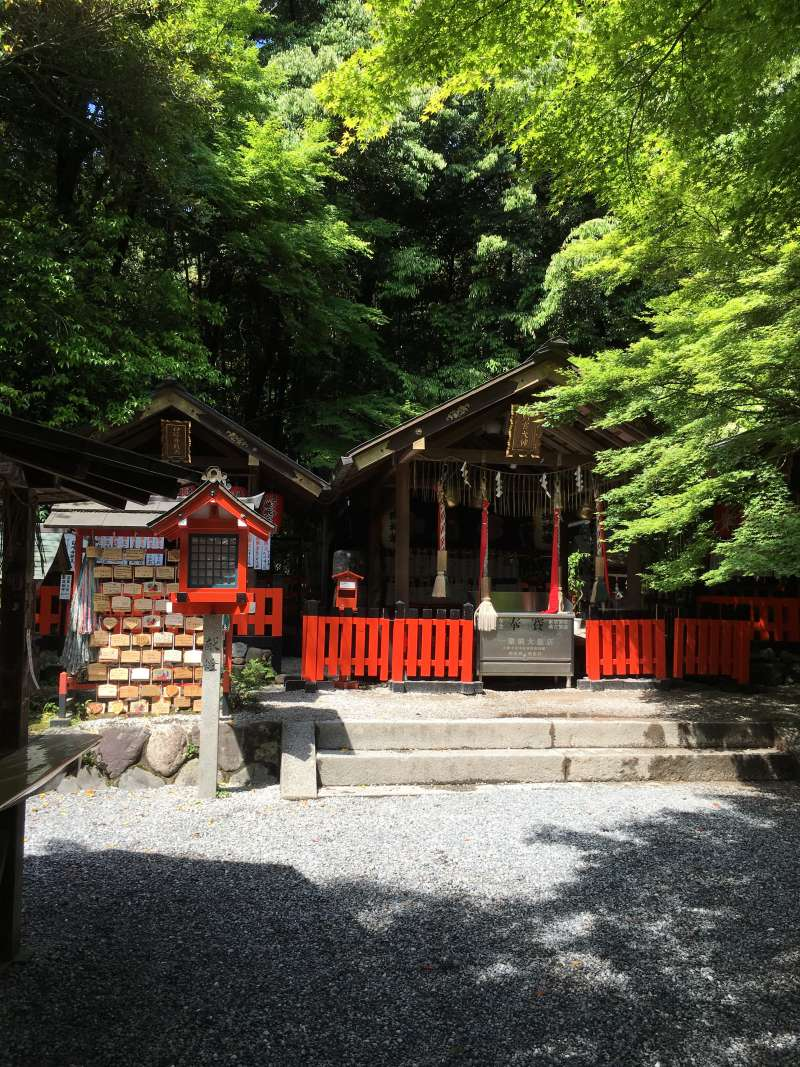 Nonomiya Shrine is famous for matchmaking.