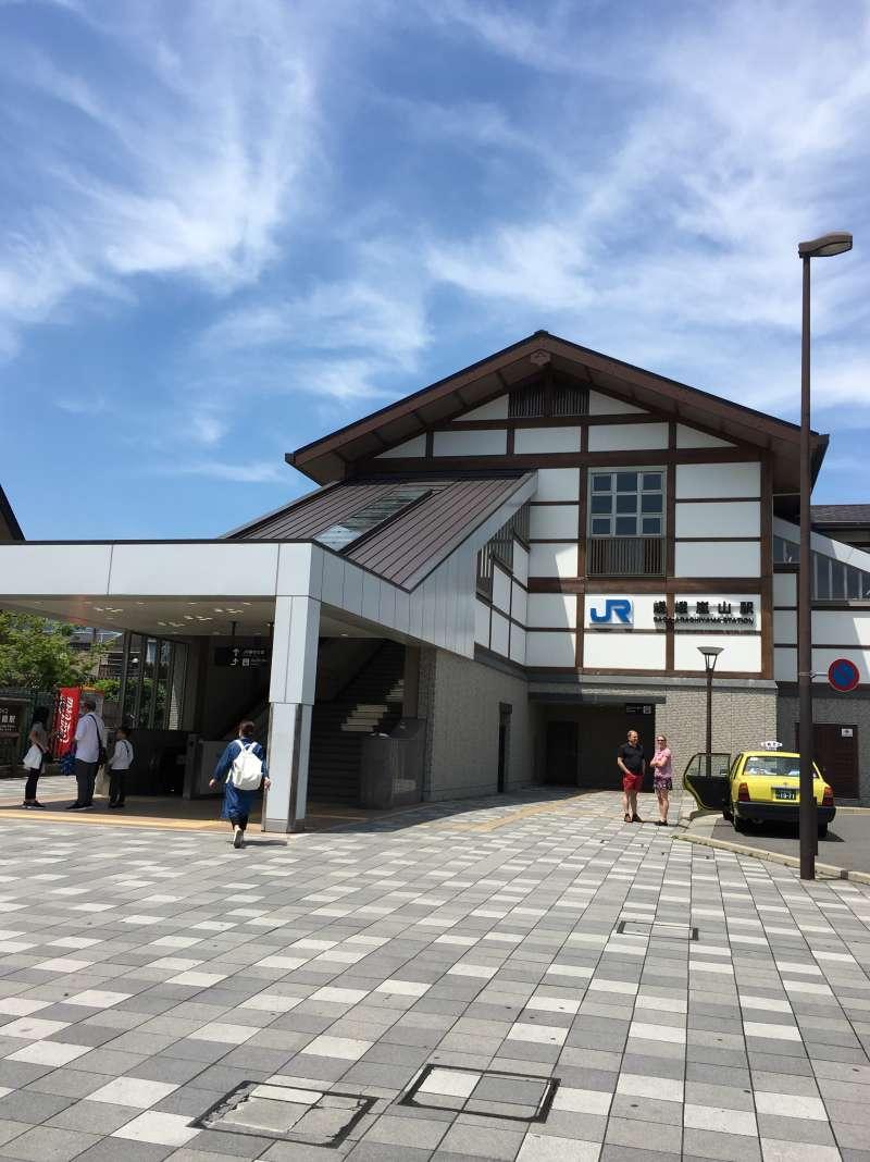 JR Saga Arashiyama station