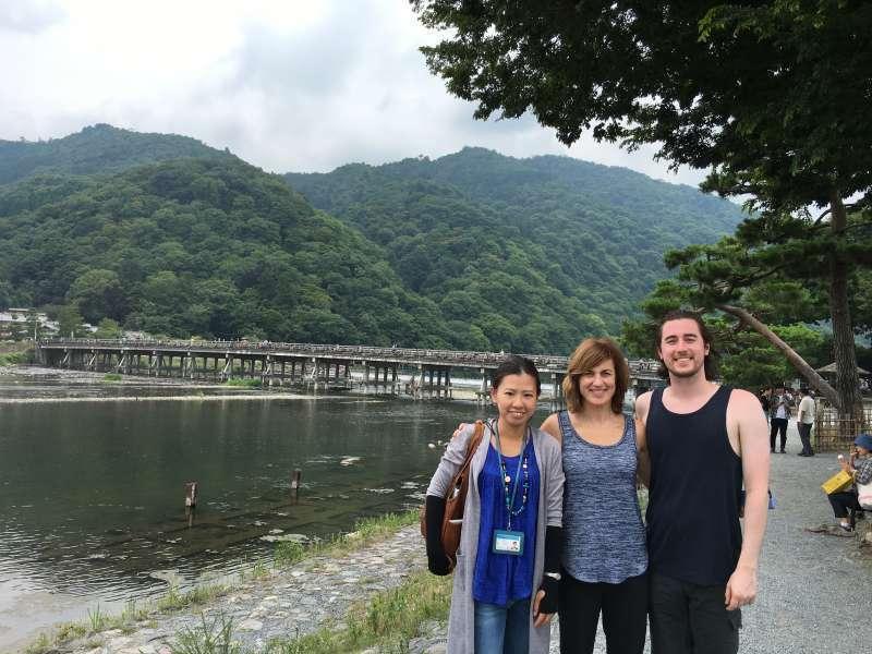 We really enjoyed Arashiyama!