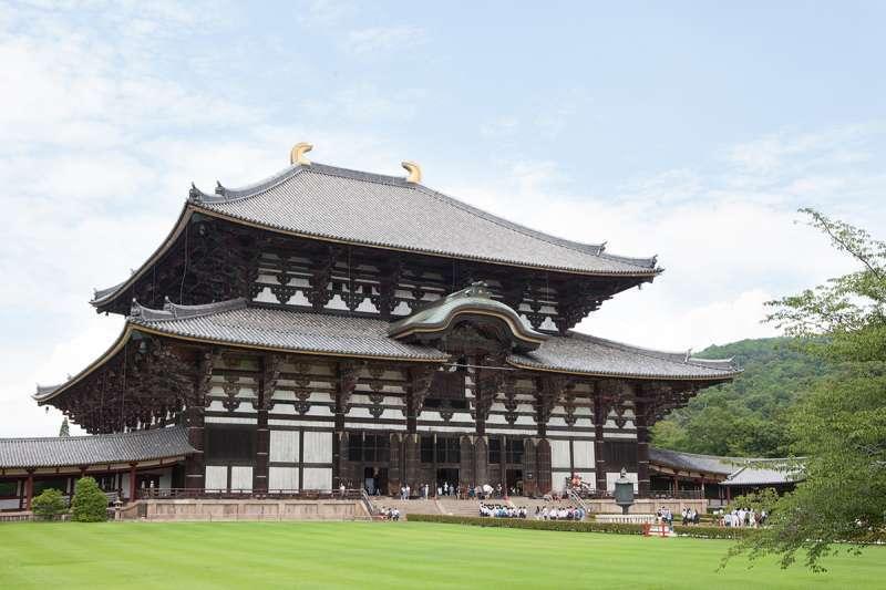 The Great Buddha Hall of Todaiji Temple