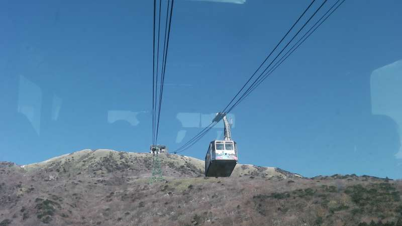 Special#1. A Ropeway to the summit of Mt. Koma