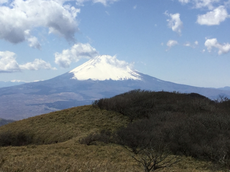 Special#1. Mt.Fuji from the summit of Mt. Koma