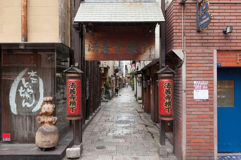 Entrance to Hozenji Alley
