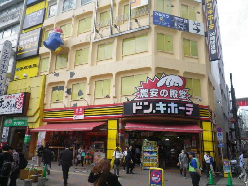 Start: JR Kamata Station West Entrance. In front of the variety shop Don Quijote.