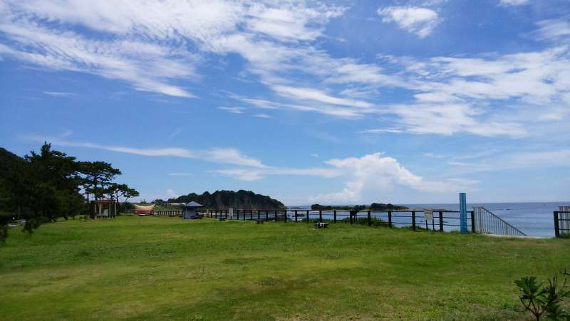 The view from Hayama Park