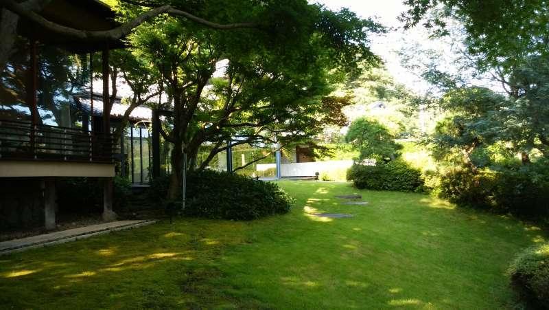 The garden of Hoshun Yamaguchi Memorial Hall
