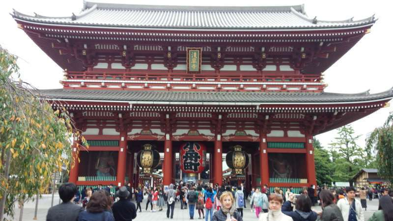 Asakusa has been Tokyo's leading entertainment district with the characteristic features including Kaminarimon Gate, Nakamise high street, Sensoji Temple and Asakusa Shrine and Kappabashi shopping street.