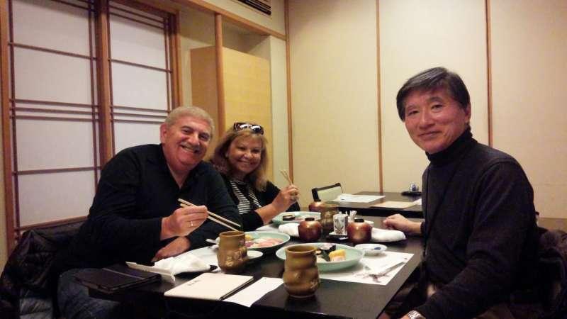 Fabulous sushi lunch in Tsukiji