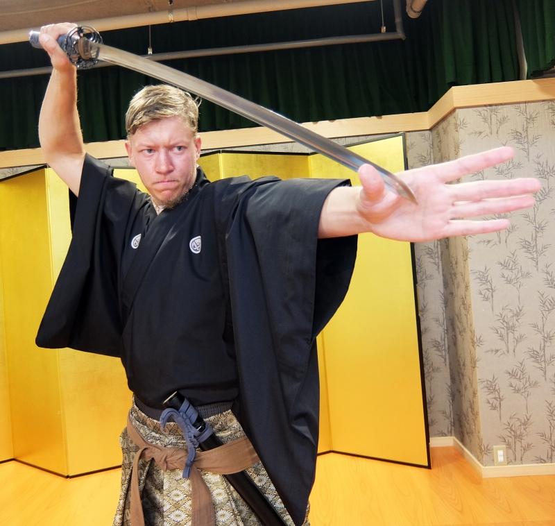Samurai Kembu School in Kyoto: Samurai for a Day - 1 hour 30 min. -