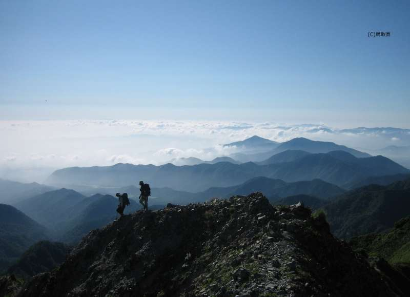 The hight is 1709m. Hikers  would be eventually rewarded by spectacular views over the surrounding landscape.