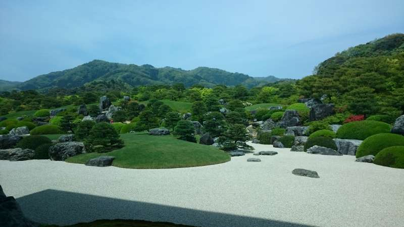 Adachi Museum. Well-known for its beautiful gardens and the collection of Japanese-style paintings. The garden has been ranked as No.1 Japanese garden for the consecutive 13 years by an American garden magazine.